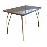 Кухонный стол из искусственного камня, Мокко