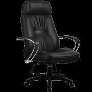 """Компьютерное кресло """"PRADO BLACK """" Хром подлокотники"""