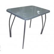 Обеденный стол из камня, Серый